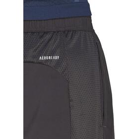 """adidas OWN The Run 2N1 Spodnie krótkie 7"""" Mężczyźni, szary"""